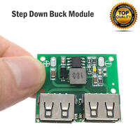 Dc-Dc Buck Step Down Converter 5.2V 3A Dual Usb Charger Power Supply Module