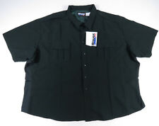 Blauer Mens Spruce Short Sleeve Polyester Police Military Supershirt Uniform 6XL