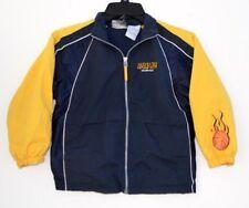 Kids HQ, Sport M.V.P. Lined jacket Black & Gold w/ Basketball Emblems size 5