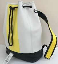de0830aed094 Polo Ralph Lauren Leather Bag   Backpack With Purse 3 Colour Draw String