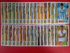Lote 32 tarjetas Actualizacion Fichaje Entrenador Adrenalyn XL Liga BBVA 12/13