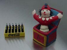 Jack In The Box Miniature RARE w Danbury Mint Coke Case 1/24 Scale Diorama Items