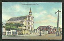 Synagogue Judaica Masonic Lodge Curacao Antilles 1940