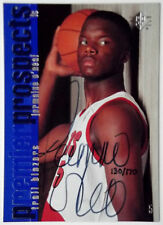 1996-97 SP Authentic JERMAINE O'NEAL On-Card Auto RC #/170 1999-00 Buyback