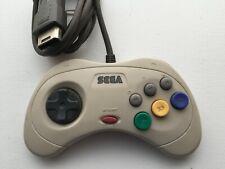 Sega Saturn Official Genuine Authentic Original Controller White - Us Seller