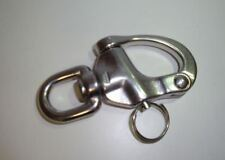 Stainless Steel Swivel Eye Snap Ring  87mm