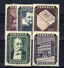 AUTRICHE - OSTERREICH n° 822/826 neuf avec charnière