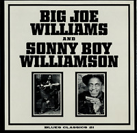 Big Joe Williams & Sonny Boy Williamson SEALED LP Blues Classics 21