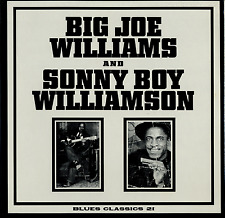 Big Joe Williams & Sonny Boy Williamson SEALED LP Blues Classics 21