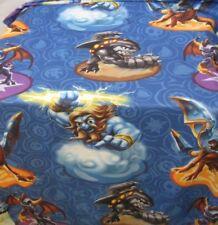 Skylanders Twin Bed Flat Sheet