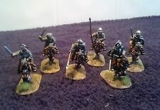 Border Reivers - The Armstrongs Mounted- 6 Mounted & horses- (unpainted) BRM01