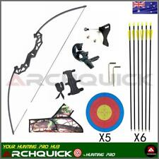 20lbs Youth Archery Longbow Arrows Set Long Bow Target Shooting Practice Kits