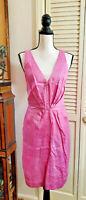 PAUL SMITH Pink SLEEVELESS KNEE LENGTH DRESS SIZE I 42 / US 4 -6
