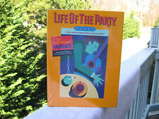 """Life of the Party """"The Coffee House Murder"""" A Stage Your Own Mystery Game~Sealed"""
