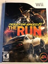 Need for Speed: The Run (Nintendo Wii, 2011) Complete