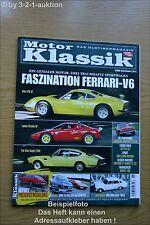 Motor Klassik 6/05 Dino 246 GT Lancia Stratos BMW M1