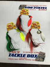 3 Northland Bucktail Spinnerbait 1oz