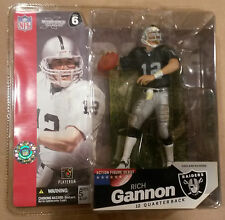 McFarlane NFL series 6 RICH GANNON action figure-Oakland Raiders-Superbowl-MIB