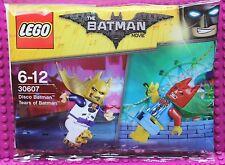 Lego ® Personnage Batman Movie neuf dans sa boîte polybag 30607 New non ouvert 2 personnages