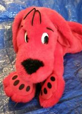 """CLIFFORD The Big Red Dog 20"""" Long Scholastic 1997 Stuffed Toy Animal Plush"""