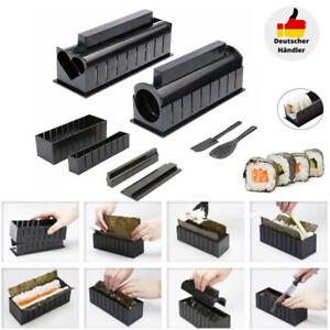 10 Stk DIY Sushi Maker Set Reisrolle Form Küchen Sushi Herstellung Tool Kit DHL