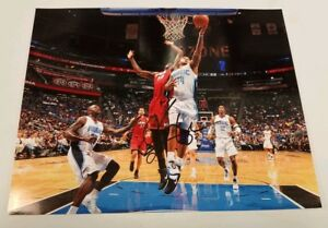 JAMEER NELSON ORLANDO MAGIC NBA SIGNED 8X10 PHOTO COA FREE S&H! NBA