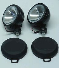"2PCS  SIX INCH  6"" OFF ROAD LIGHT DRIVING/FOG  LIGHT BLACK HOUSING WITH COVER"