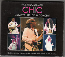 NILE RODGERS AND CHIC - greatest hits live in concert CD