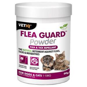 VetIQ Flea Guard Powder for Cats and Dogs 60G