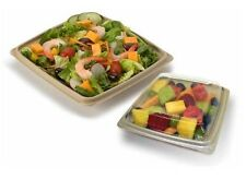 """10.25"""" Eco Expressions™ Eco Forward® PLA Compostable Lid fits 10.25"""" Square Base"""