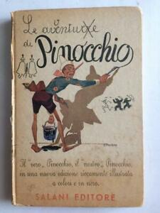 Libro Le Avventure di Pinocchio C. Collodi Salani Editore  1924