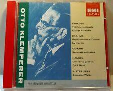 Klemperer Edition- Strauss, Brahms, Mozart, Handel et al (CD, Apr-1992,(cd4448)