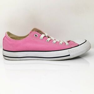 Converse Mens Chuck Taylor All Star Pink Running Shoes Lace Up Sz M 6.5 W 8.5