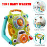 3 in1 Baby Sit-to-Stand Walker,Activity Center Entertainment Table Drawing Board