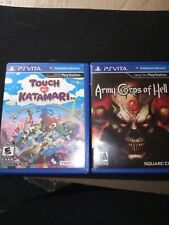 **Rare** Touch My Katamari plus Army Corps of Hell for Sony PlayStation PS Vita