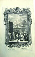 ENGRAVINGS PHYSICA SACRA (1) PLATE CCLXXXI JOHANNES SCHEUCHZER 1731-1735