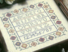 Alphabet Sampler Counted Cross Stitch Pattern Chart from a publication
