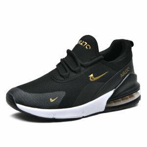 Mens Kids Air Casual Trainers Memory Foam Walking Running Sneakers Sports Shoes