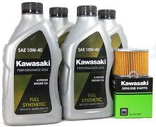 1990 Kawsaki ZX1000-B3 (Ninja ZX-10)   Full Synthetic Oil Change Kit