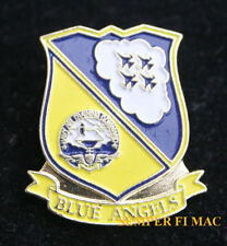 BLUE ANGELS HAT LAPEL PIN US NAVY MARINES BLUE ANGEL F-18 PILOT CREW WING GIFT