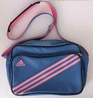 Official Retro Classic Adidas Shoulder Bag Blue Pink
