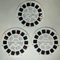 Batman 1978 Viewmaster Reels Vintage BB492 rare Set 3 reels 1-21 TV Show