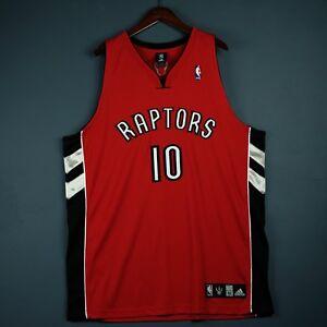 100% Authentic Demar Derozan Adidas Raptors Jersey Size 52 2XL