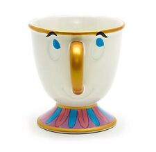 Disney Beauty And The Beast Chip Mug Ceramic Cup Gift