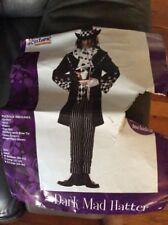 Dark Mad Hatter Adult Costume - Large Pre Ownd