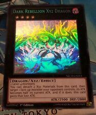 Dark Rebellion Xyz Dragon - NECH-EN053 - Ghost Rare - 1st Edition VLP Yugioh