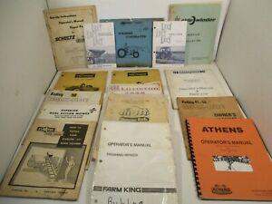 16 Manuals Sidewinder Kelly Shawnee Schultz Athens Lilliston Equipment Farm L1