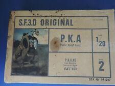 Nitto S.F.3.D Original, PKA 1/20 scale plastic kit