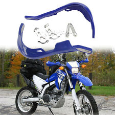 "Blue 7/8"" Motor Bike ATV Hand Guards For Suzuki DR JR RM V-Strom 80 125 250 650"