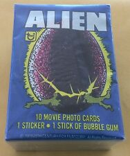 1979 Topps Alien Trading Card Set & Wax Pack